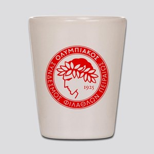 Olympiakos Shot Glass