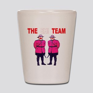 The Eh! Team Shot Glass