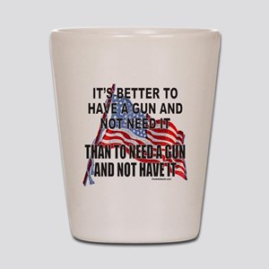 2nd AMENDMENT Shot Glass