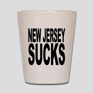 New Jersey Sucks Shot Glass