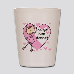 This Girl Can Dance Shot Glass