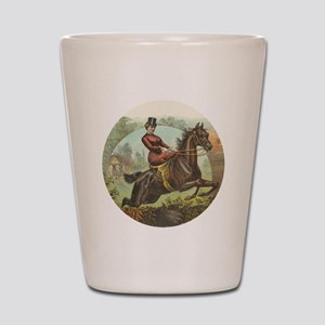 Jumping Horse Shot Glass