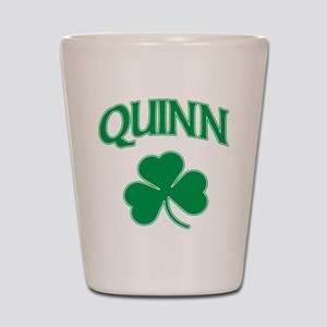 Quinn Irish Shot Glass