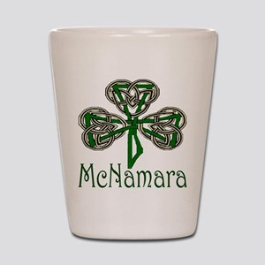 McNamara Shamrock Shot Glass