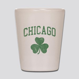 Chicago Irish Shot Glass
