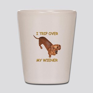 Trip Wiener Shot Glass