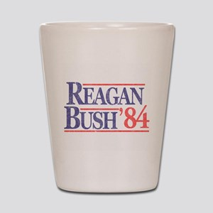 Reagan Bush '84 Shot Glass