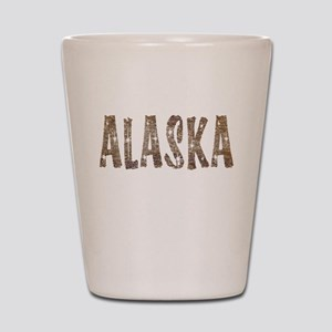 Alaska Coffee and Stars Shot Glass