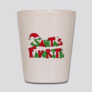 Santa's Favorite Shot Glass