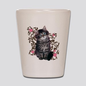 Cute Kitten Kitty Cat Lover Shot Glass