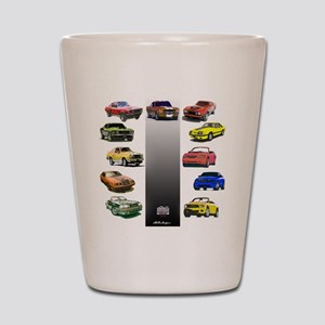 Mustang Gifts Shot Glass