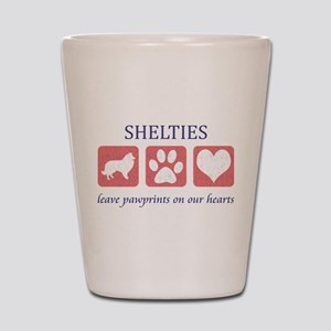 Sheltie Lover Gifts Shot Glass