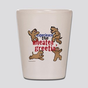 Wheaten Greetin' Shot Glass
