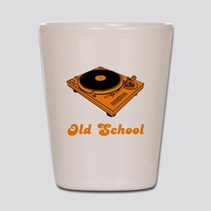 Old School Turntable Shot Glass