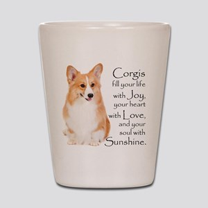 Pembroke Corgi Shot Glass
