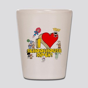 I Heart Schoolhouse Rock! Shot Glass
