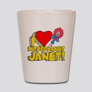 I Heart Interplanet Janet! Shot Glass
