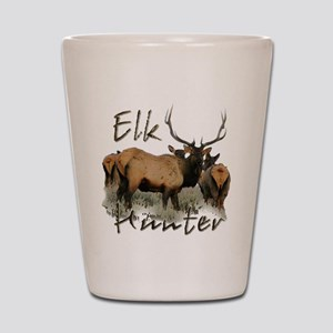 Elk Hunter Shot Glass