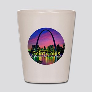 St. Louis Shot Glass