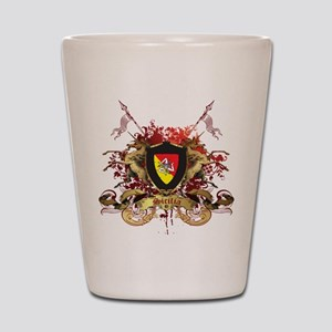 Sicilian Pride Shot Glass