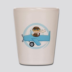 Boy Pilot Shot Glass
