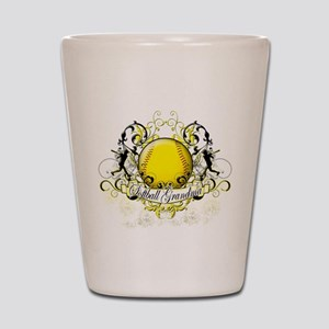 Softball Grandma Shot Glass