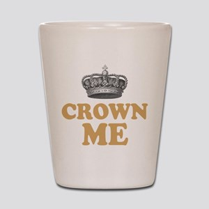 Crown Me Royal British Shot Glass