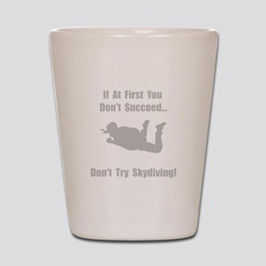 Skydiving Shot Glass