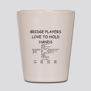 Duplicate bridge Shot Glass