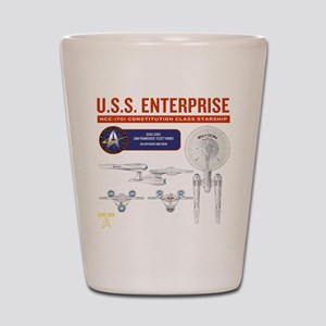 Starship Enterprise Shot Glass