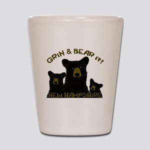 Grin & Bear it! Shot Glass