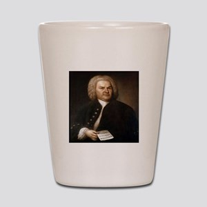bach quotes Shot Glass