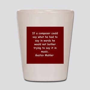 Gustav Mahler Shot Glass