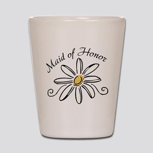 Daisy Maid of Honor Shot Glass