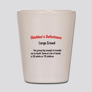 Sheldon's Deception Quote Shot Glass