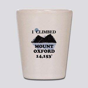 Mount Oxford Shot Glass