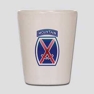 10thMountain Division Shot Glass
