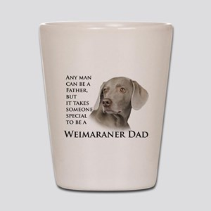 Weimaraner Dad Shot Glass