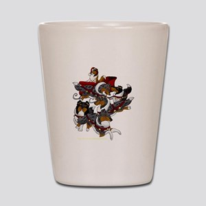 Collie Sleigh Shot Glass
