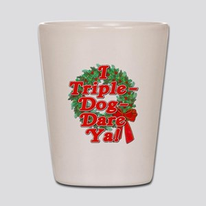 Triple Dog Dare A Christmas Story Shot Glass