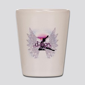 Crystal Dancer Shot Glass