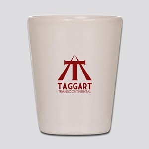 Taggart Transcontinental Red Shot Glass