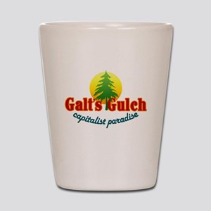 Galt's Gulch Capitalist Parad Shot Glass