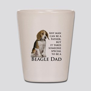 Beagle Dad Shot Glass