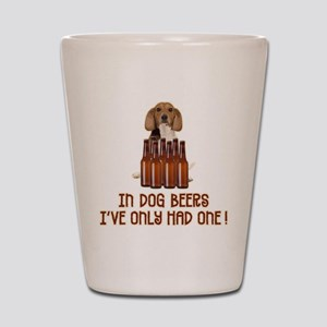 Dog Beers - Shot Glass