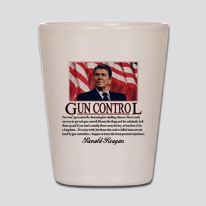 Gun Control Shot Glass