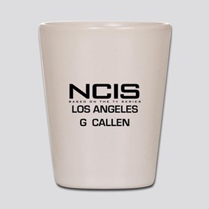 NCIS LA G Callen Shot Glass