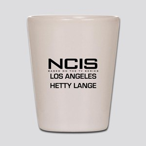 NCIS LA Hetty Lange Shot Glass