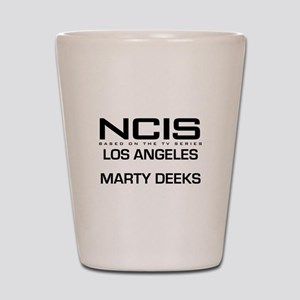 NCIS LA Marty Deeks Shot Glass