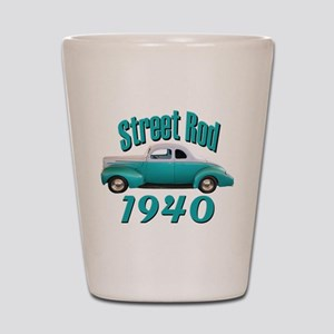 1940 Ford Hot Rod Jade Shot Glass